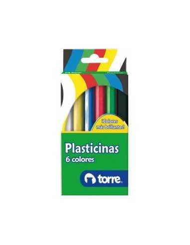 CAJA PLASTICINA 6 UNI  Plasticina