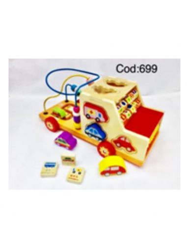 AUTO GRANDE MULTIFUNCIONAL importado Juguetes Infantil