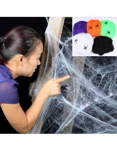 Tela de Araña Halloween