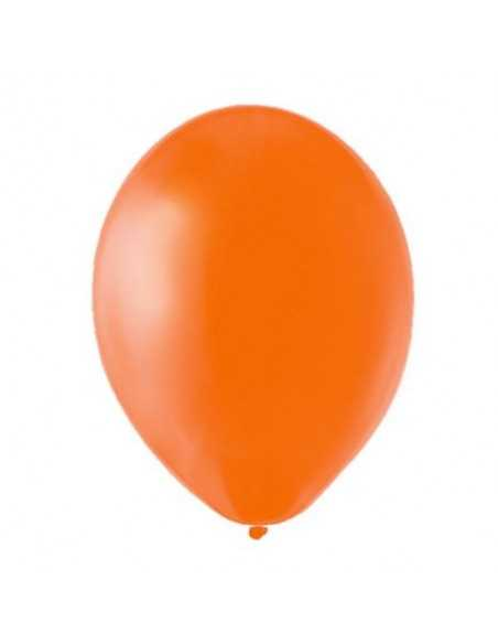 BOLSA GLOBOS N°9 (50 unidades) Naranjo  Globos