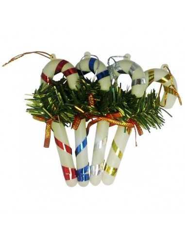 Bastones Adorno N°7  Navidad