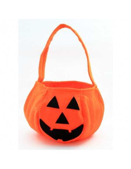 CALABAZA TELA HALLOWEEN DOCENA  Halloween