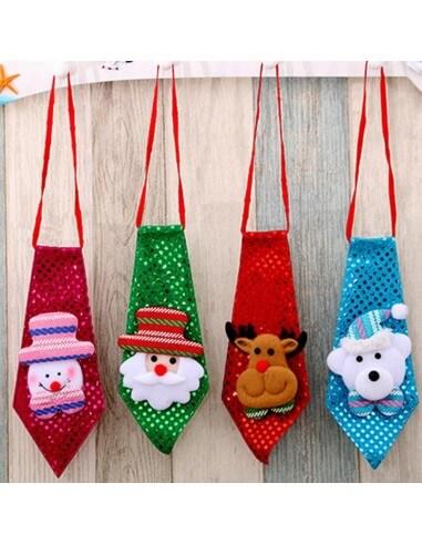 Corbata Navideña Diseños variados