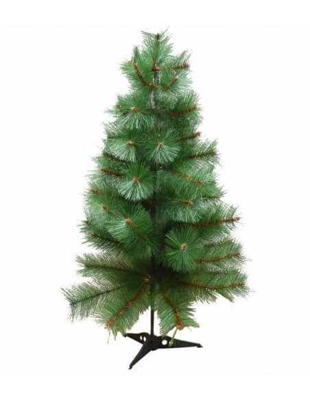 Árbol del navidad verde de pelos tamaños  Especiales