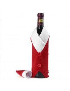 Funda navideña para botella...