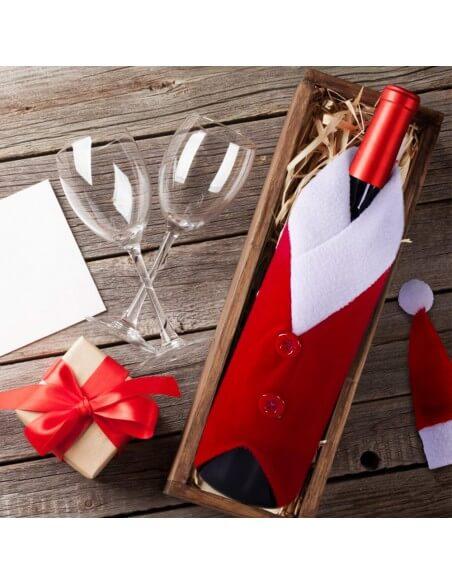 Funda navideña para botella Docena  Especiales