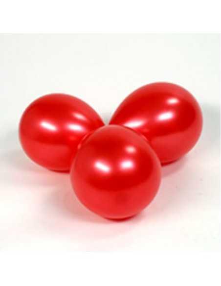BOLSA GLOBOS N°12 (50 unidades) Rojo  Globos