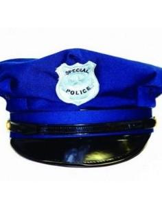 GORRO POLICÍA AZUL