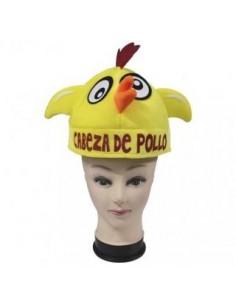 GORRO CABEZA DE POLLO