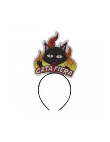 CINTILLO GATA FIERA  Cotillón