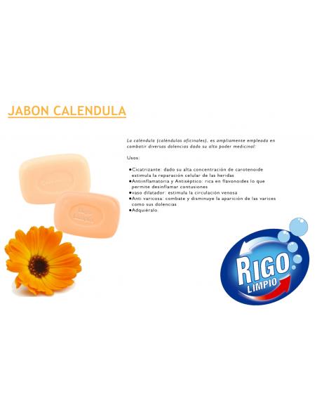 JABÓN ARTESANAL CALENDULA  Belleza