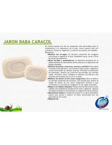 JABON ARTESANAL BABA DE CARACOL