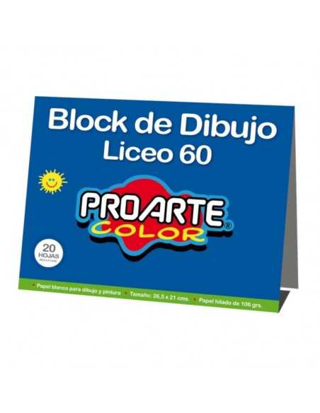 BLOCK LICEO  Block de Dibujo