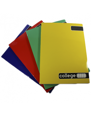 CUADERNO COLLEGE MATEMATICA 5MM  80 HJS