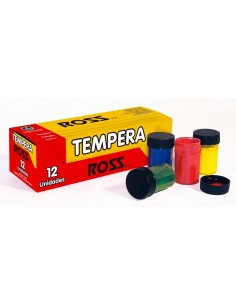 CAJA DE TEMPERA DE 12 COLORES