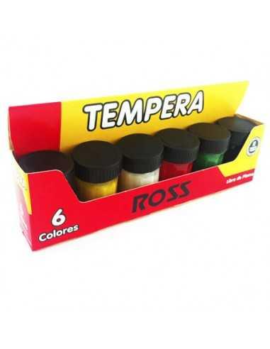 CAJA DE TEMPERA DE 6 COLORES