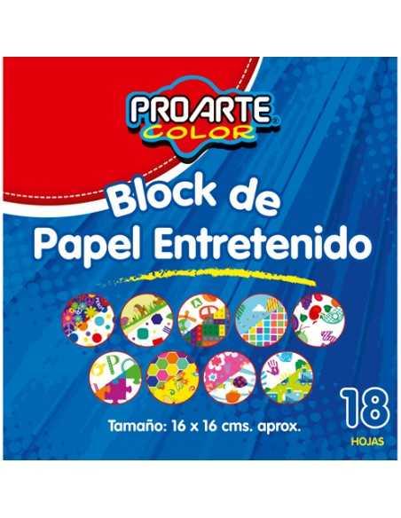 BLOCK ENTRETENIDO ORIGAMI 16X16  Carpetas