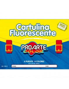 CARPETA CARTULINA FLUOR