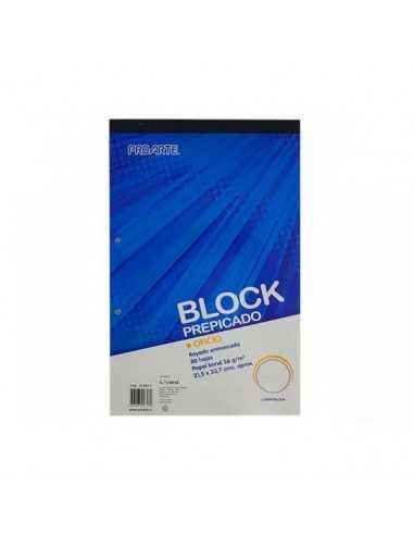 BLOCK PREPICADO OFICIO 7MM  Liberia y Papelería