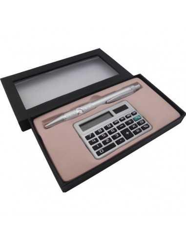 Set  Lapiz + Calculadora