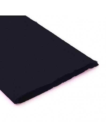 Pliego de Papel Crepe Negro importado Pliego