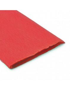 Pliego de Papel Crepe Rojo