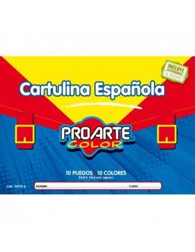 CARPETA DE CARTULINA ESPAÑOLA