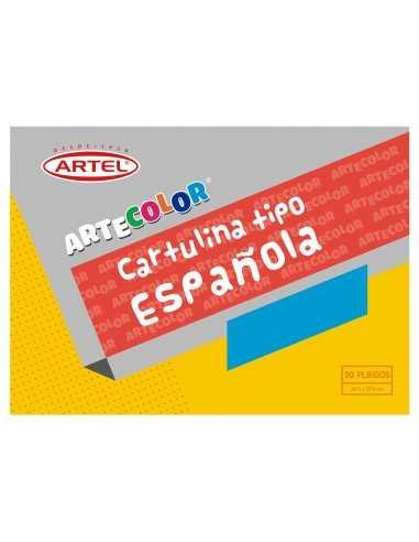 CARPETA DE CARTULINA ESPAÑOLA ARTEL