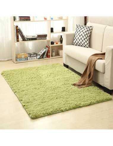 ALFOMBRA SHAGGY 160 x 230 cm Verde