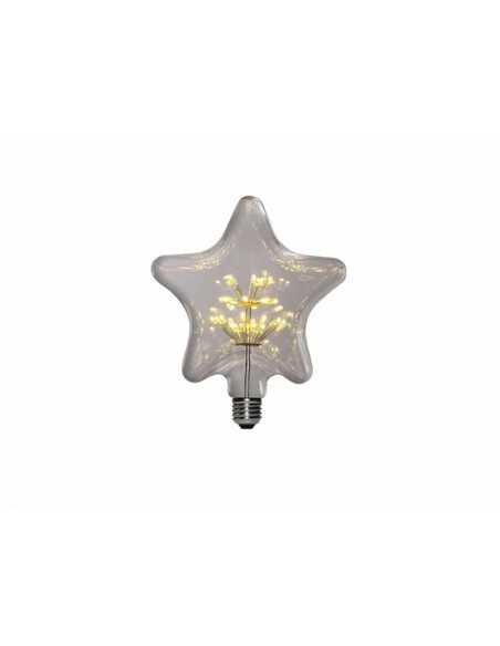 AMPOLLETA LED E27 DECORATIVA PENTAGRAMA 1.5W  Especiales