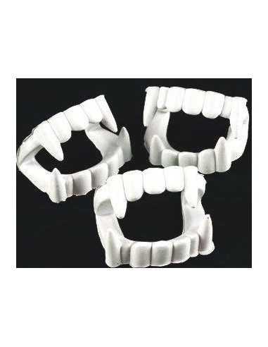 Dientes de Vampiro Blanco (12 unidades)