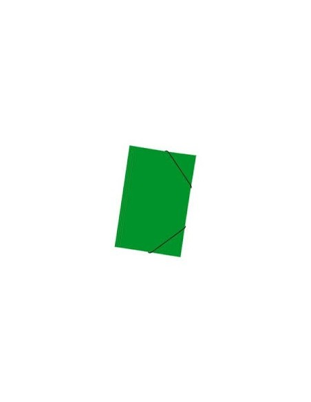Carpeta con Elástico Verde