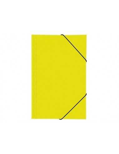 Carpeta con Elástico Amarilla