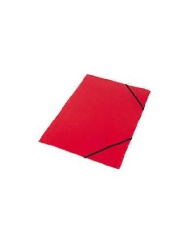 Carpeta con Elástico Roja