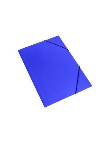 Carpeta con Elástico Azul