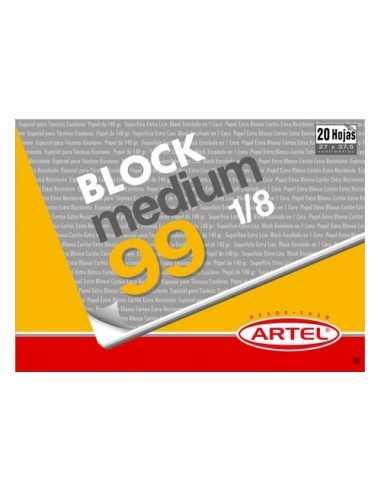 BLOCK DE DIBUJO Nº 99 Artel  Block de Dibujo
