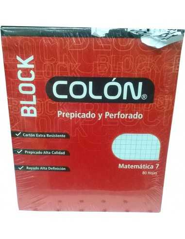 BLOCK PREPICADO CARTA 7 MM