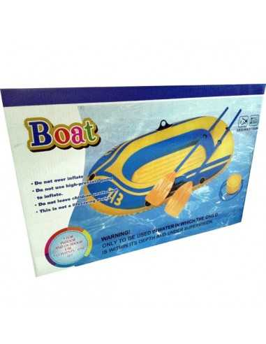 BOTE CON REMOS INFLABLE 1,93 X 1,14 MTS