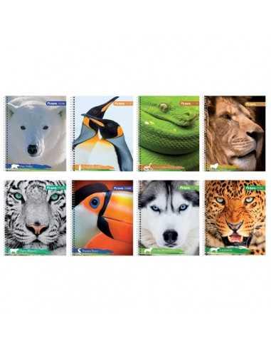 CUADERNO UNIV. MAT. 100H ANIMALES TORRE
