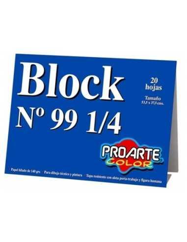 BLOCK DE DIBUJO 99 1/4  Inicio