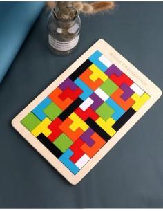 Tetris Chico de Madera