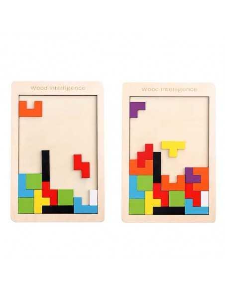Tetris Grande de Madera importado Juegos de Mesa