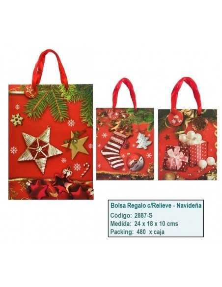 Bolsa de Regalo Navideña  Navidad