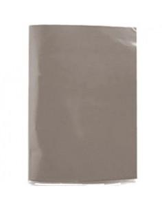 CARPETA PLASTIFICADA CON ACOLCLIP GRIS  Carpetas
