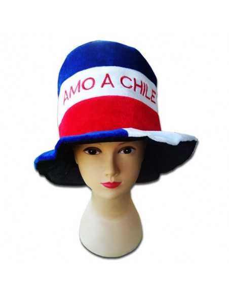 """GORRO """"AMO A CHILE"""""""