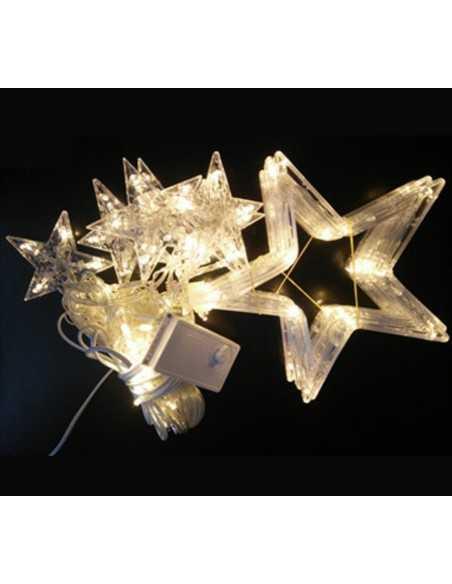 CASCADA LED DE ESTRELLAS 4 Mts  Navidad