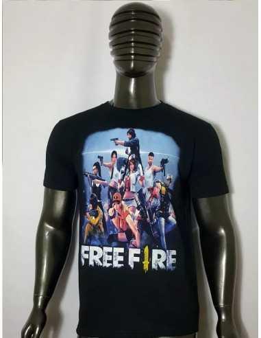 Polera  Free Fire