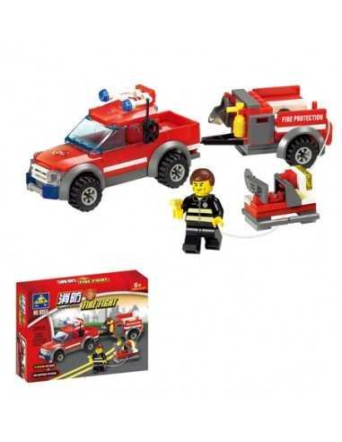 LEGO AUTO CON REMOLQUE 143 PIEZAS GRANDE