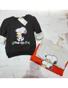 Poleron  Infantil  Snoppy