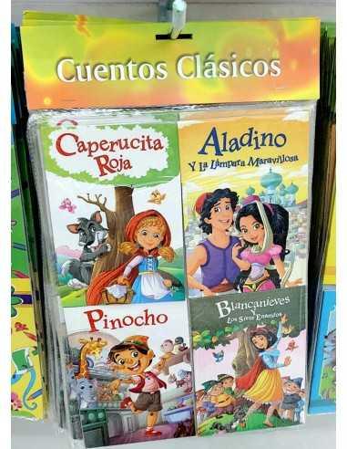 SET DE CUENTOS CLÁSICOS ( 4 UNIDADES )